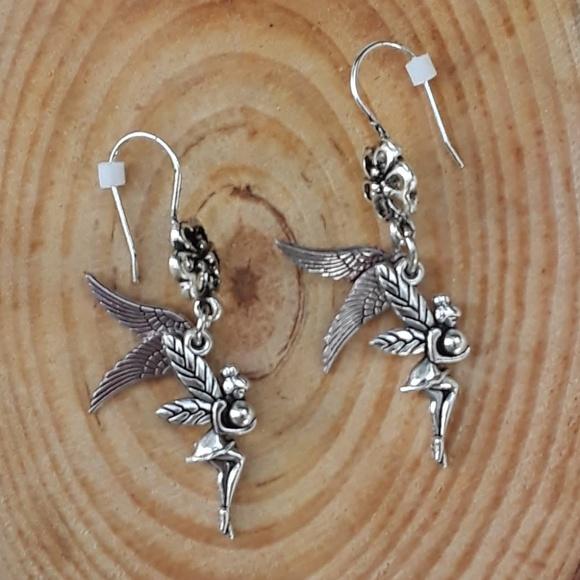 Fairy Tale Jewelry Jewelry - Extra Wings - dangle earrings